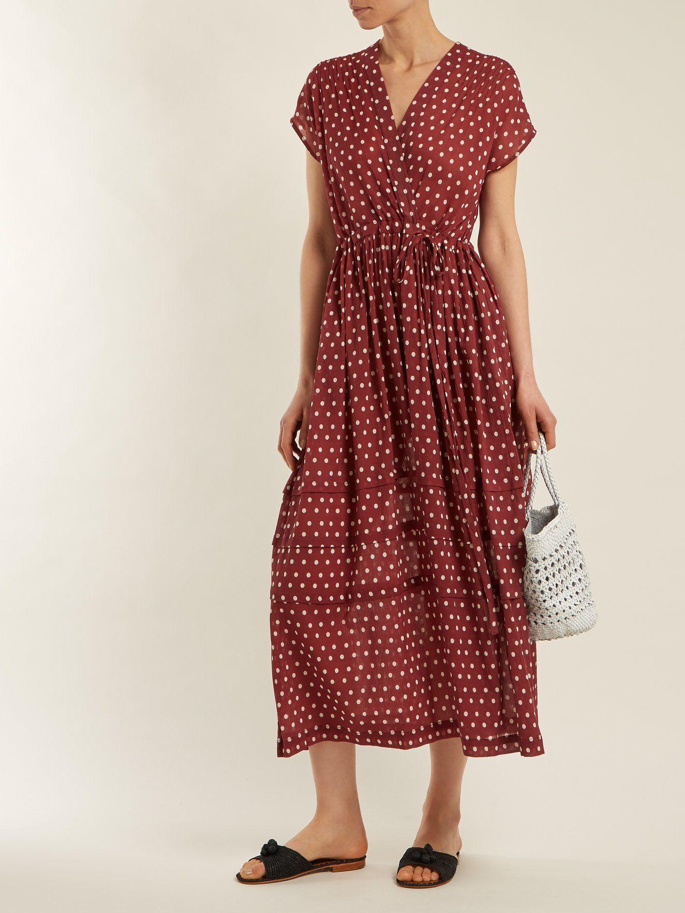 994ab9c25fd6e Maisee polka-dot dress