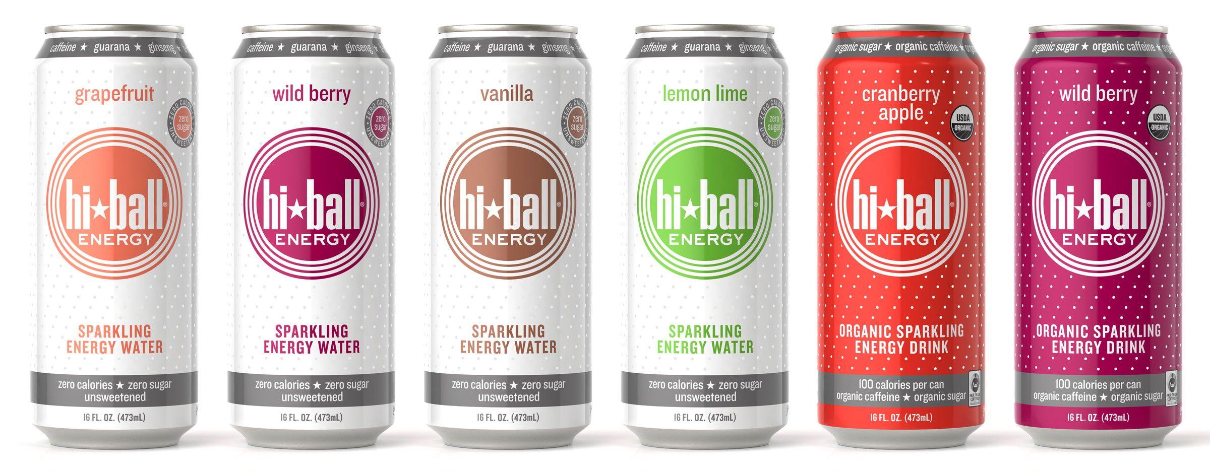 Hiball Energy Drinks Disenos De Unas Latas Empaques