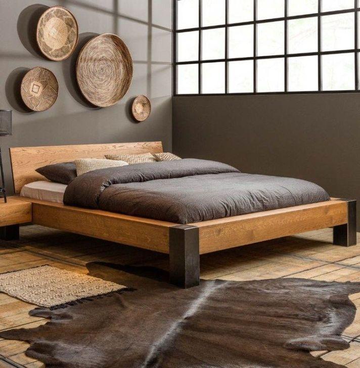 99 Elegant Platform Bed Design Ideas - Wood Ideas