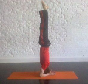 headstand howto tips benefits  yoga inversions yoga