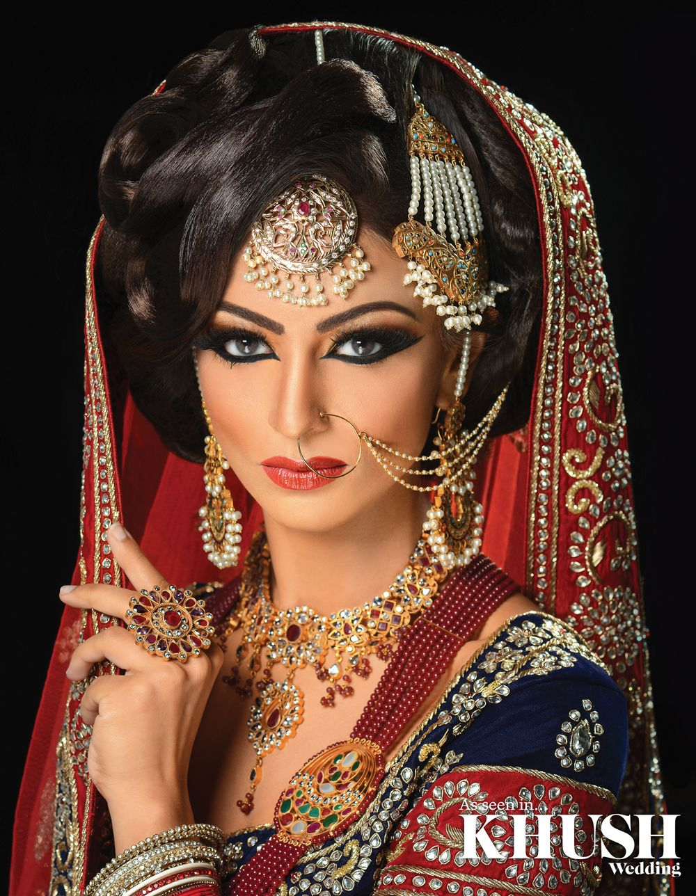 How Stunning Is This Bridal Makeup Look By Shally S Beauty Parlour Wolverhampton Based Indian Bridal Hairstyles Bridal Hair And Makeup Indian Bridal Makeup