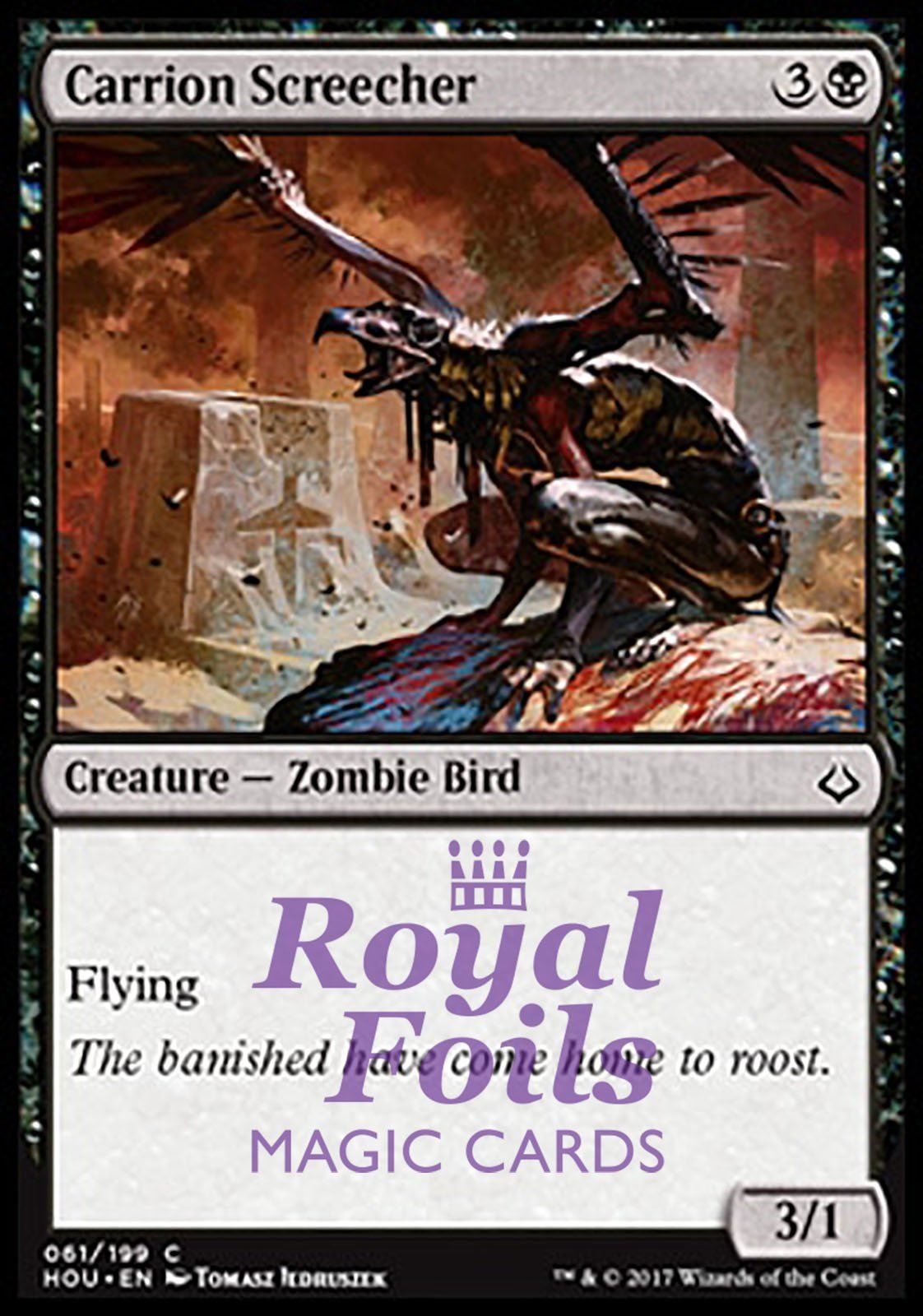 1 FOIL Reiver Demon kaartspellen Verzamelingen Black Mirrodin Mtg Magic Rare 1x x1