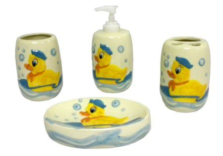 Young S 11178 4 Piece Ceramic Duck