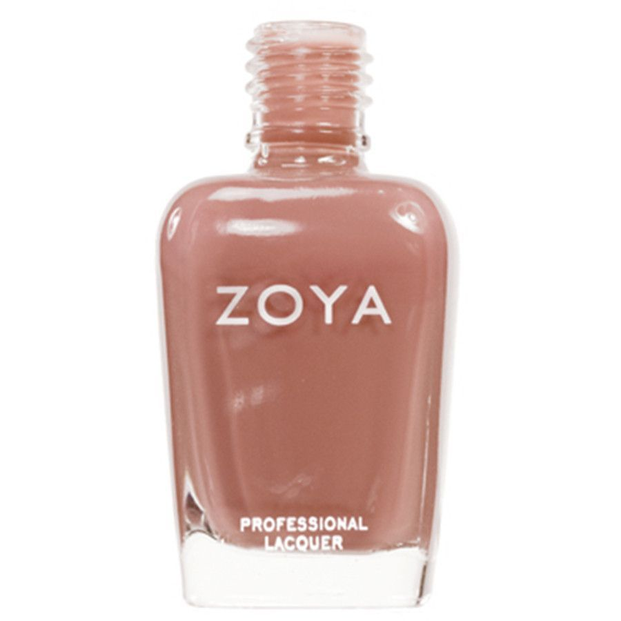 Flowie: Light brown cream polish with peach undertones. Zoya Nail Polish has the hottest shades for all seasons and skin types, they're also the longest wearing lacquer formulation in the world today!