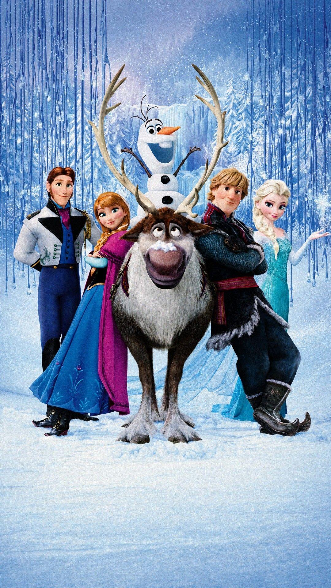 Frozen Mobile Wallpaper 2865 Disney movie posters