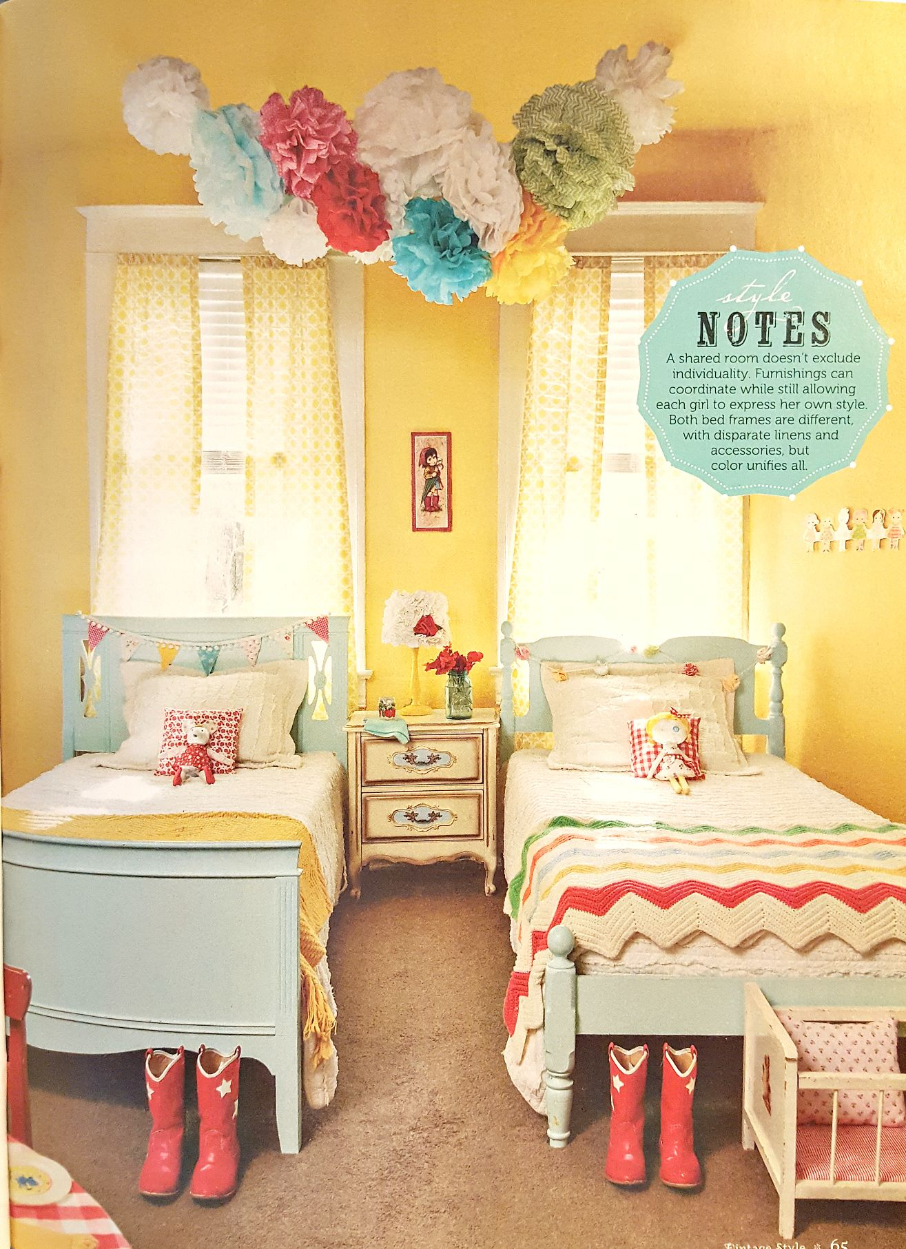 Image Result For Vintage Yellow Girls Bedroom Yellow Kids Rooms