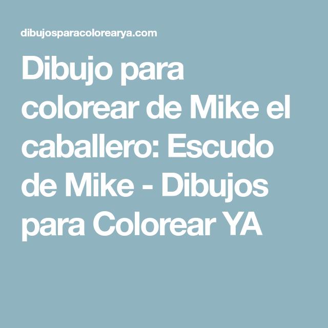 Único Página Para Colorear De Escudo Caballero Galería - Ideas Para ...