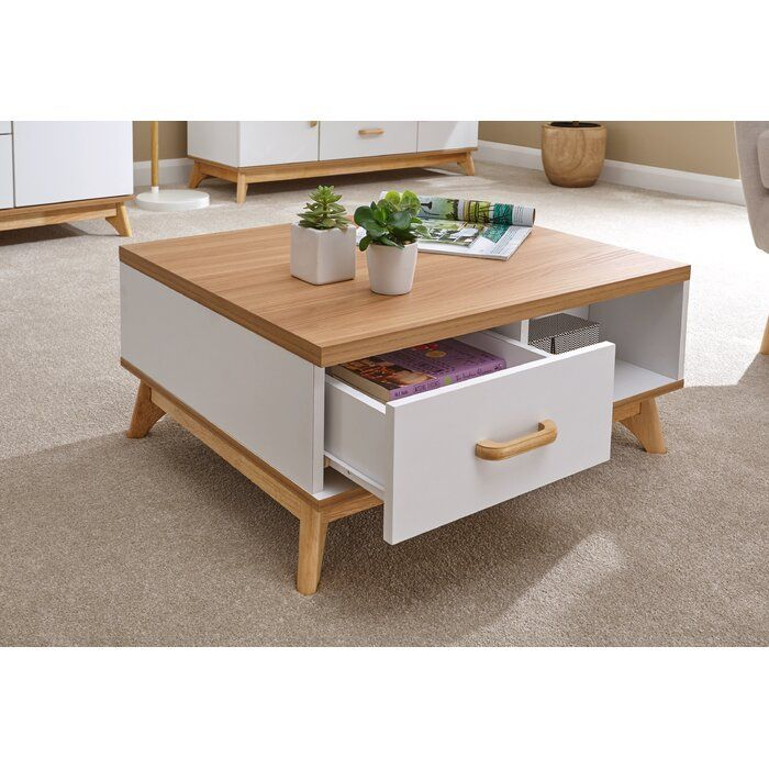 Norden Home Nordica Coffee Table With Storage Wayfair Co