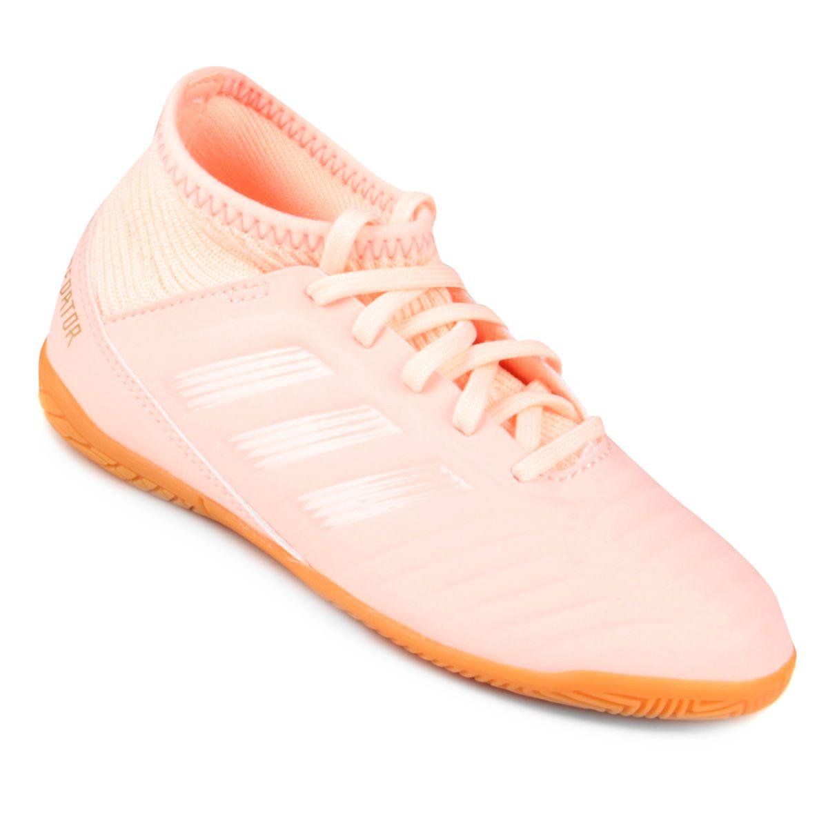5eae9367e7b2b Chuteira Futsal Infantil Adidas Predator 18 3 IN - Compre Agora | Netshoes  Chuteira Futsal Infantil