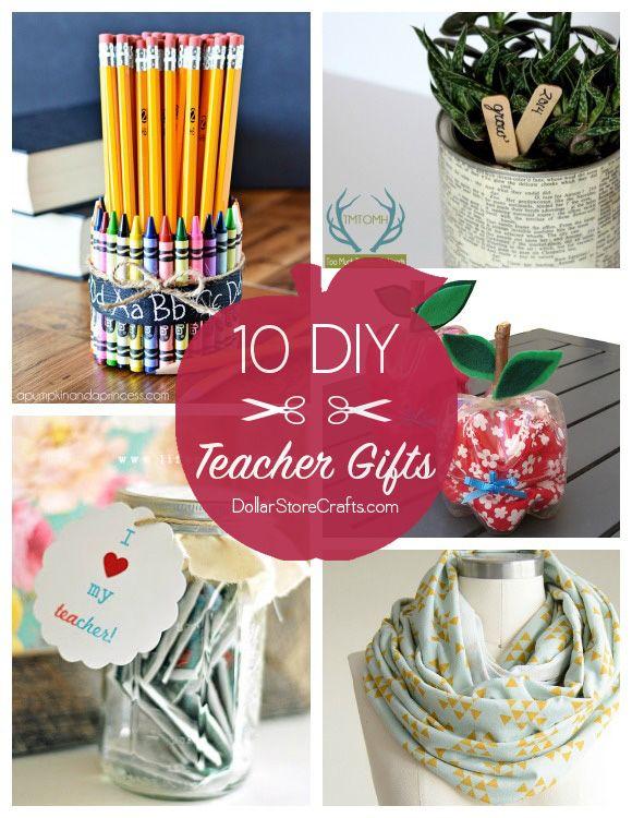 10 Cute Diy Teacher Gifts Budget Friendly Teachers Diy Diy