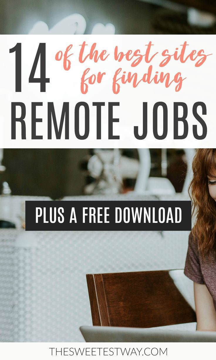 How to Find Remote Jobs The Best Sites to Search Remote