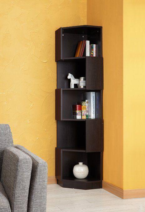 Furniture Of America Bey 5 Shelf Bookcase Display Stand