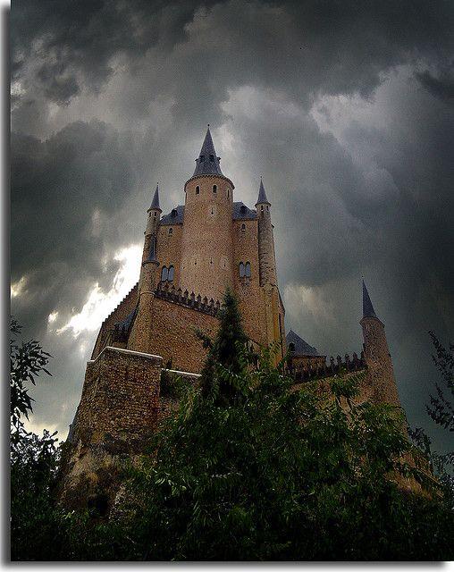 Segovia Castle in Spain