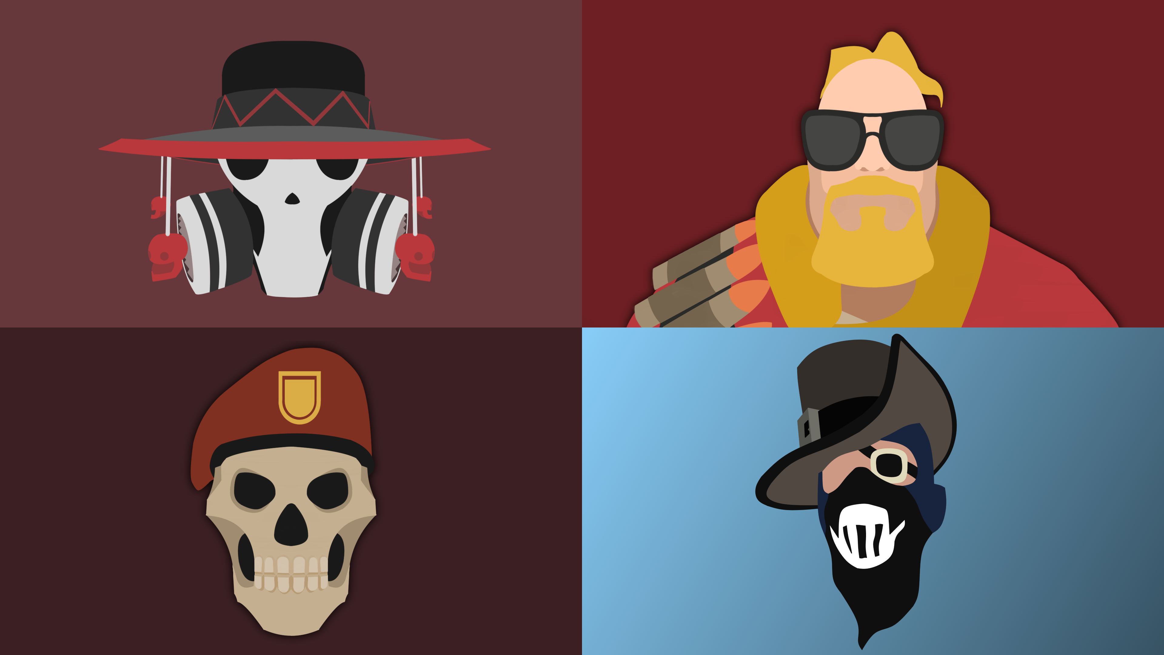 Taking requests for Minimalist TF2 Avatars Info in comments – Tf2 Birthday Card