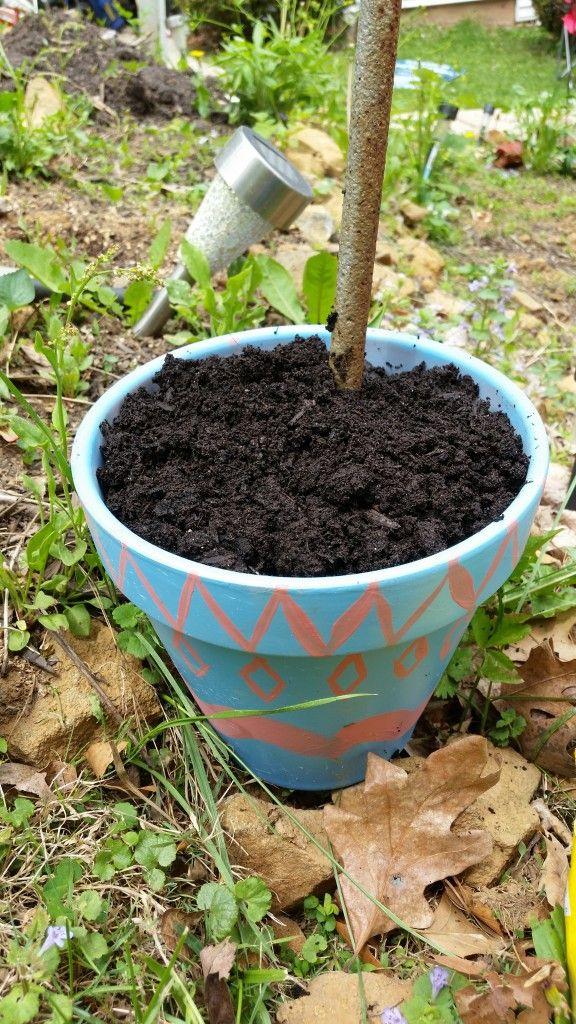 Topsy turvy flower pot crafts garden crafts (17)