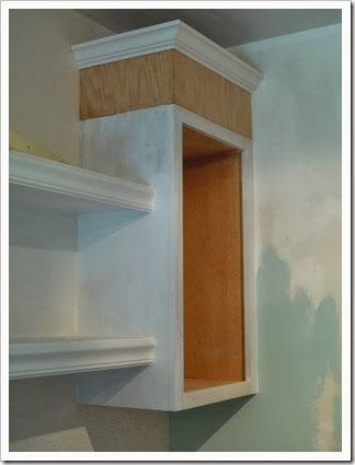 Stock Unfinished Cabinets At Lowes, Oak Plywood And Stock Crown Molding