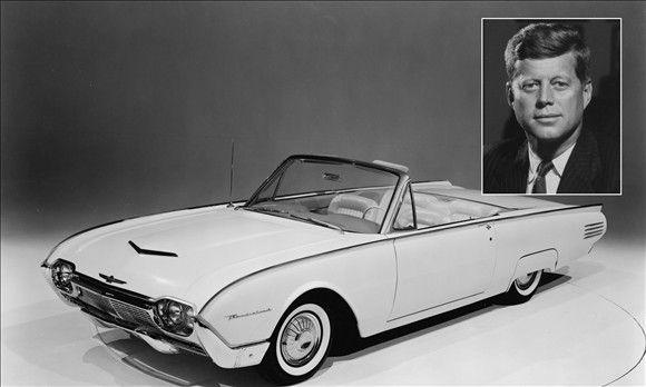 John Kennedy Ford >> John F Kennedy S 1961 Ford Thunderbird C Prnewsfoto