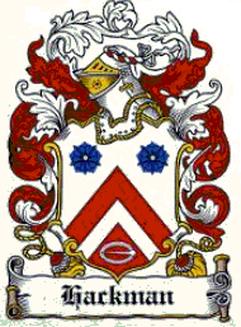 Hackman Family Crest Family Crests Family Crest Family Shield