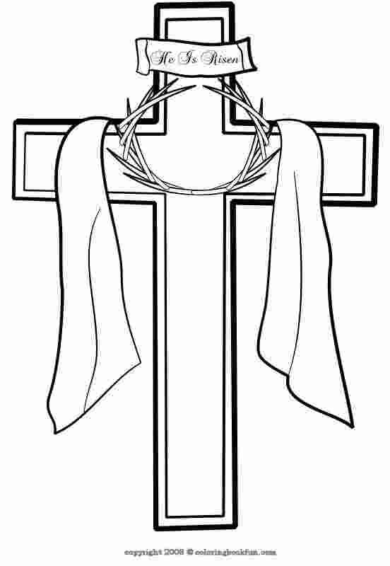 Easter Crosses Coloring Pages Cross Coloring Page Easter Cross Easter Coloring Pages