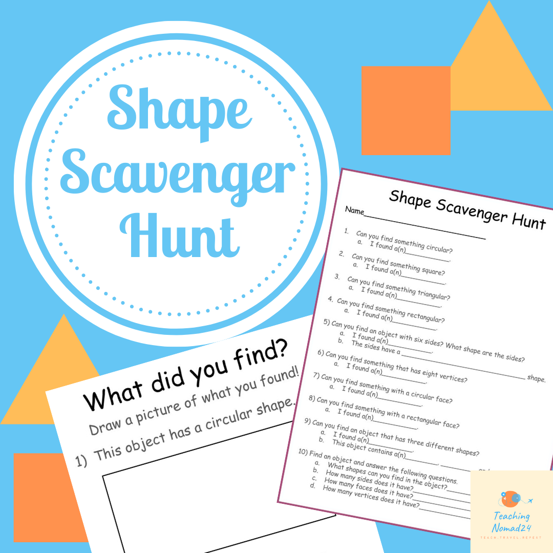 Shape Scavenger Hunt In