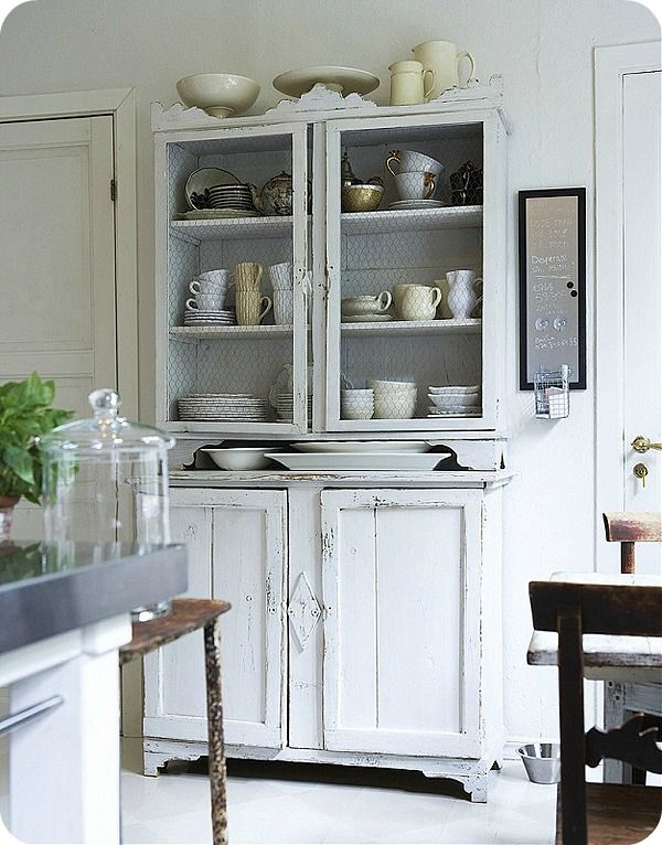 Love This Chicken Wire Cabinet For The Breakfast Room · Decor  IdeasDecorating ...