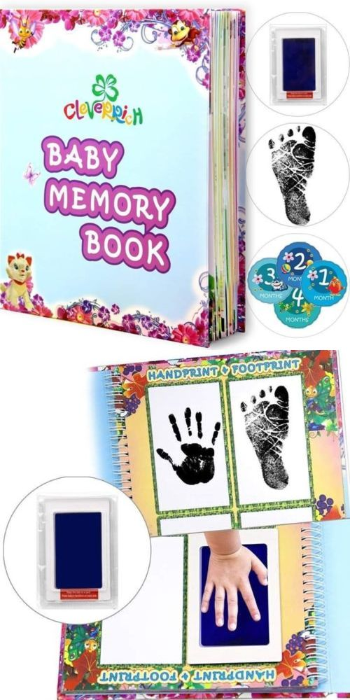 NoJo Baby Memory Book 5 Year Unisex For Boys Birth Record Book Album For Infants