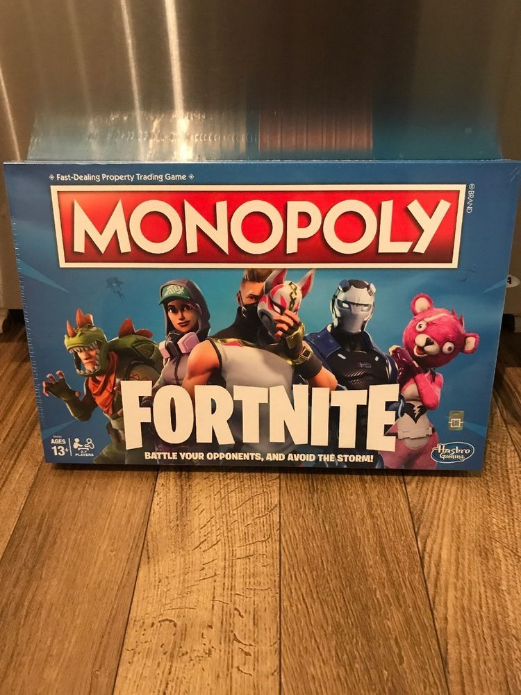 Fortnite Monopoly Board Game Brand New Fortnite Launch