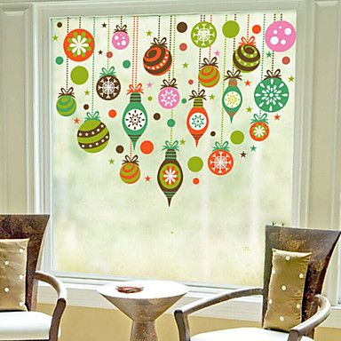 Christmas window sticker contemporary art deco 60m60cm 4480242 2016 11 44