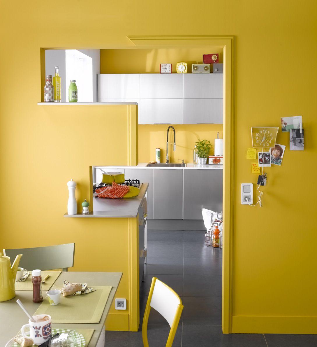 Une entrée de cuisine géométrique et colorée projets à essayer