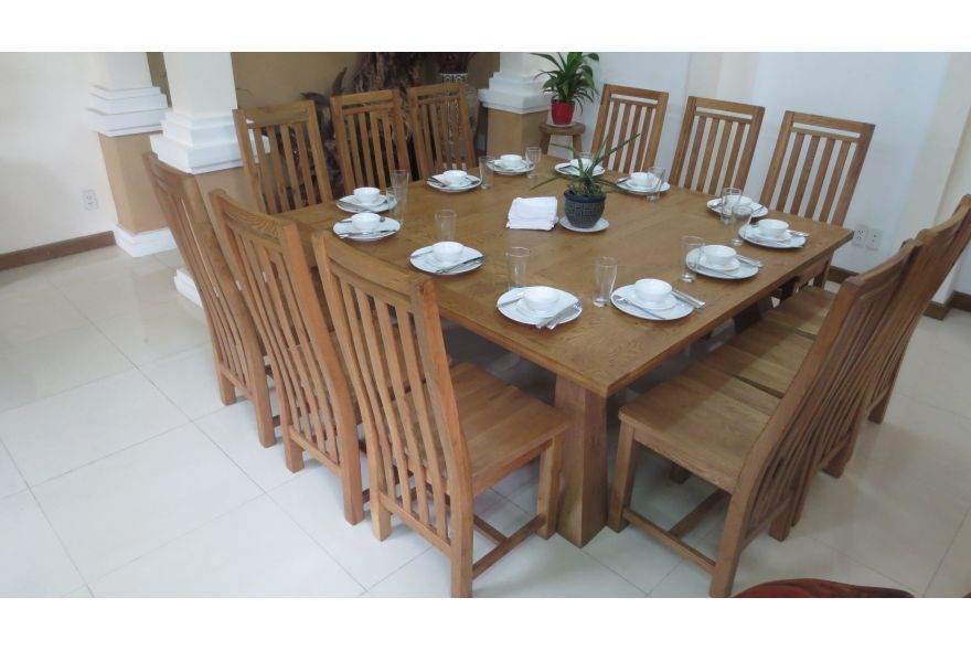 Square Dining Table For 12   Dislike Chairs But Like Idea Of Square Dining  Table Vs. Rectangle | Furniture | Pinterest | Square Dining Tables, ...