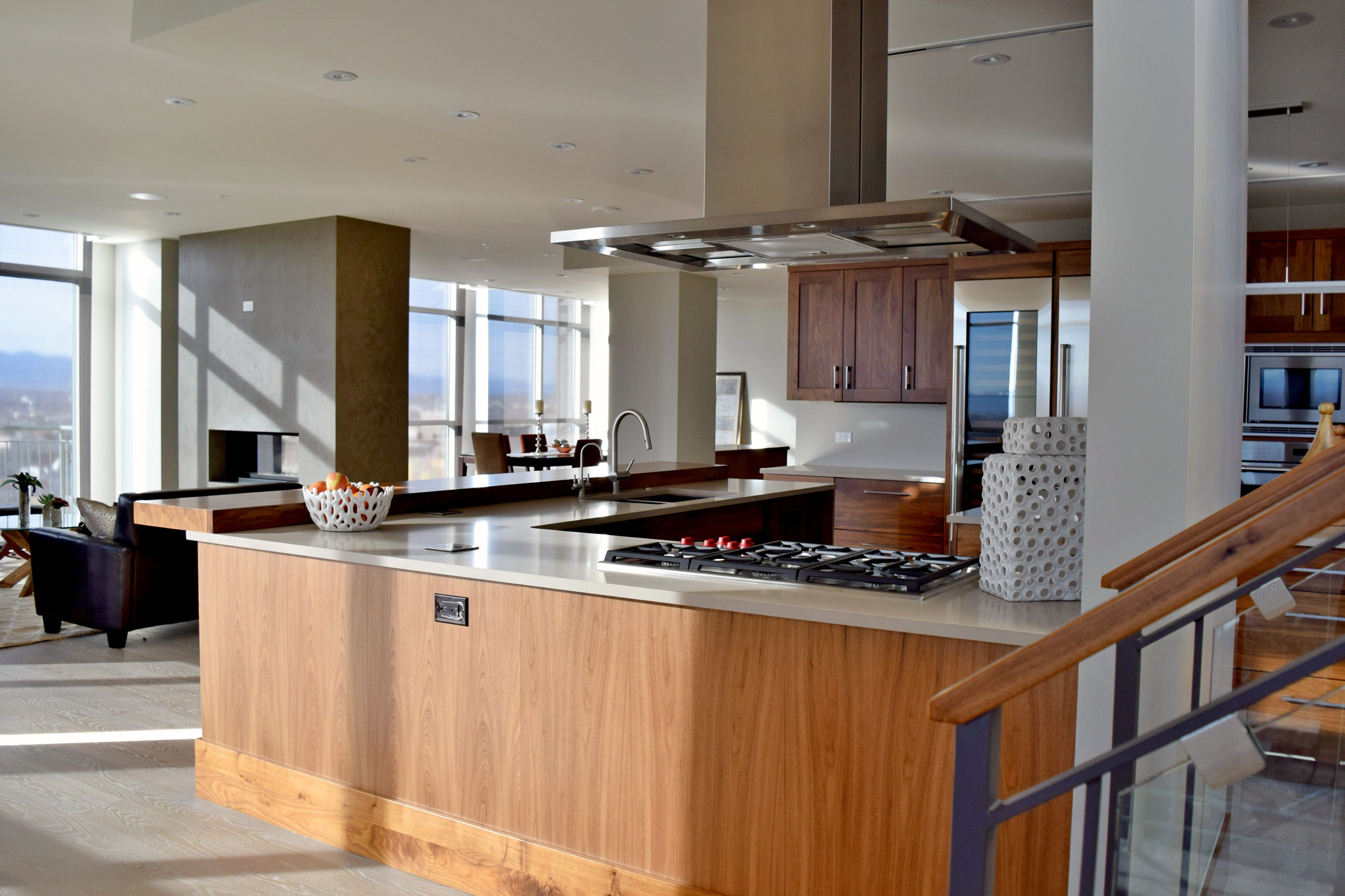 BKC Kitchen and Bath Denver kitchen cabinets - Crystal Cabinet Works ...