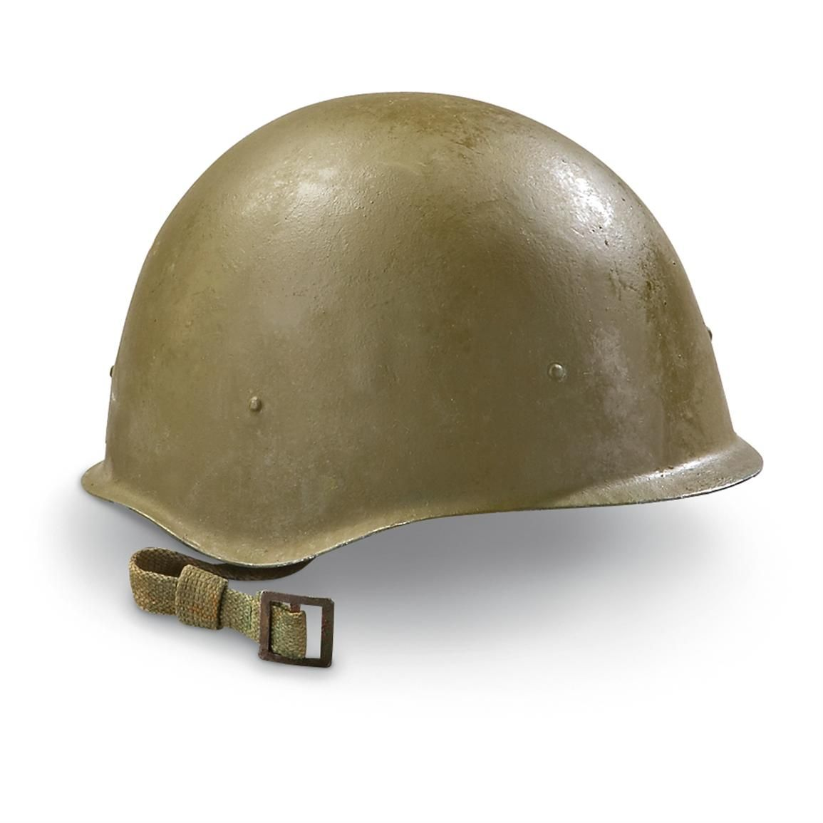 Army surplus helmet