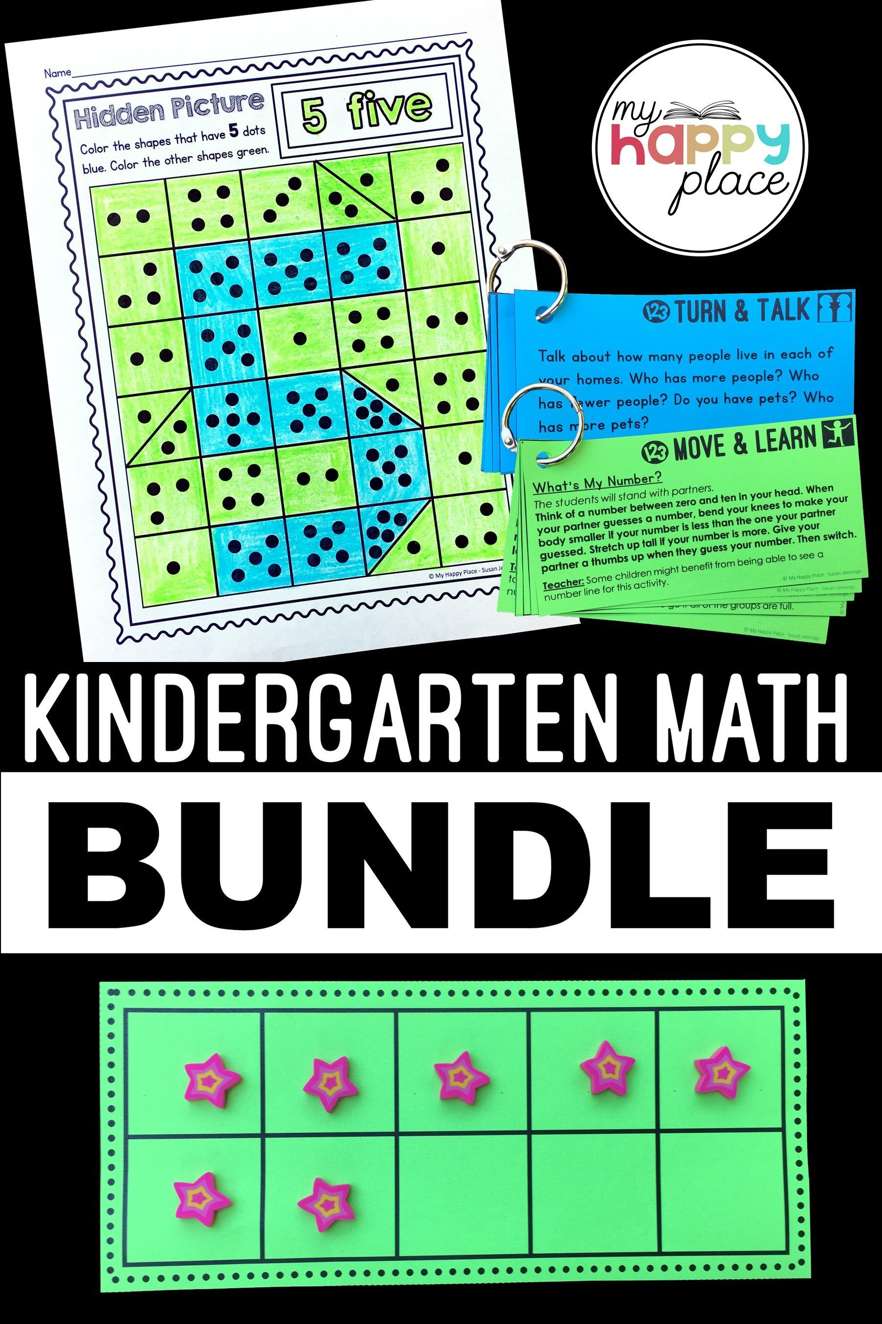 Kindergarten Math Worksheets I Can Statements Anchor