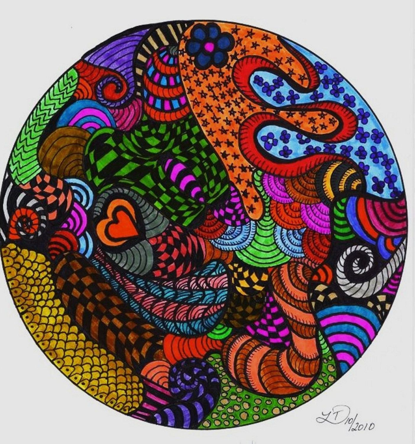 Mandala Coloring Page, Adult, Children, Family Friendly Coloring ...