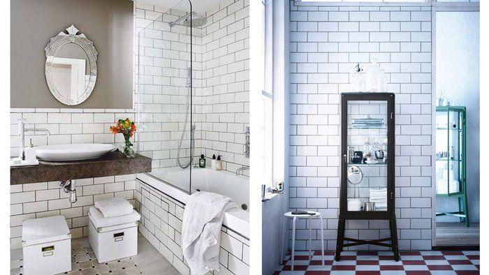 1000 images about salle de bain on pinterest toilets vintage sink and tile - Carrelage Salle De Bain Vintage