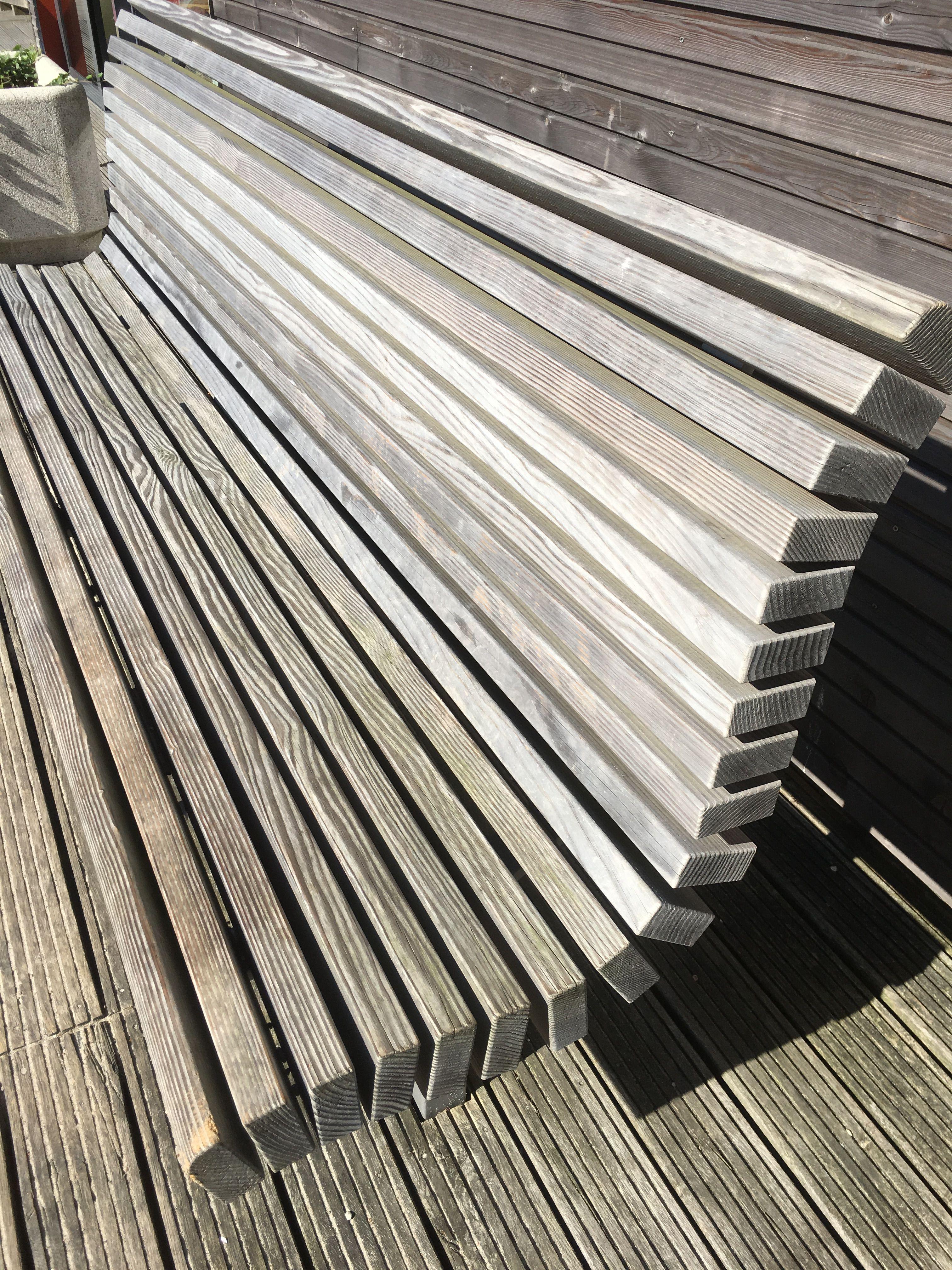 Holzbank geschwungen | Holzbänke - wood benches | Pinterest | Garden ...