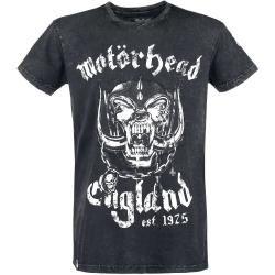 Photo of T-Shirt da uomo Motörhead Emp Signature – Nera – Merchandise ufficiale