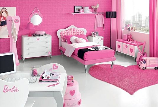 such a pretty little girls room. colour theme for my little girls