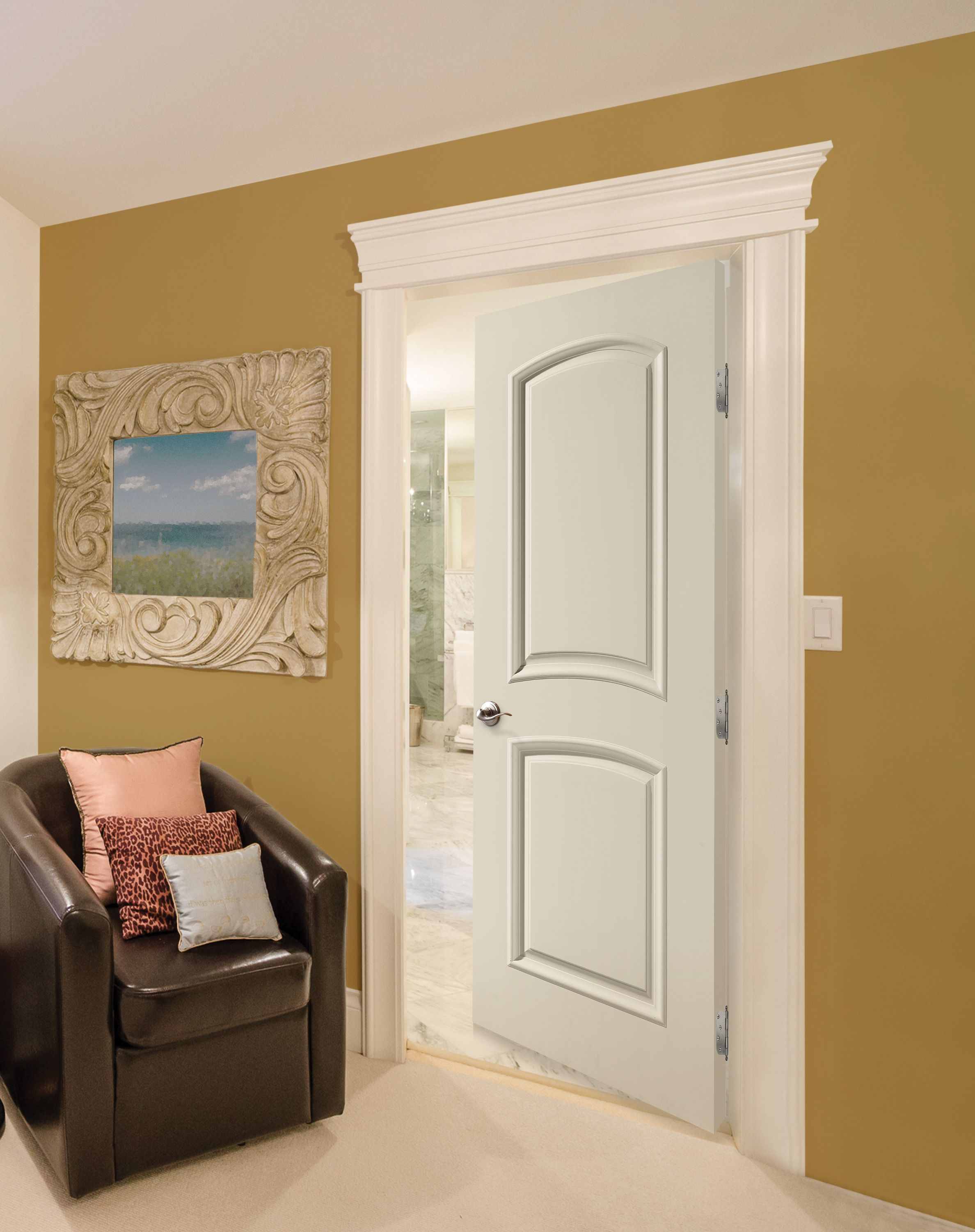 Sitting Room Featuring Palazzo Series Bellagio Style Door