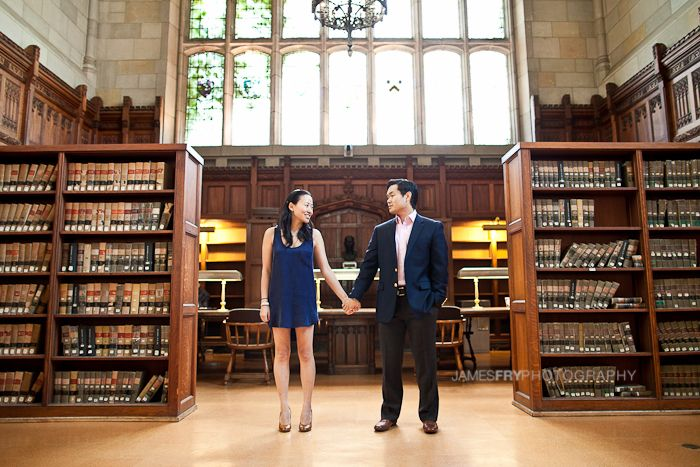 super fun engagement session! I love books and hope to someday have my e session done in a library too!!