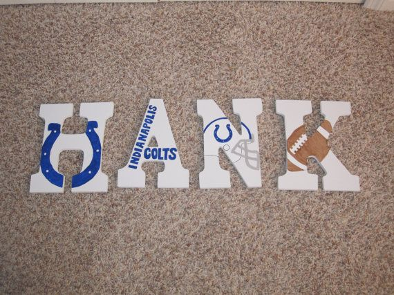 Boys Nursery Sports Nursery Football Indianapolis Colts