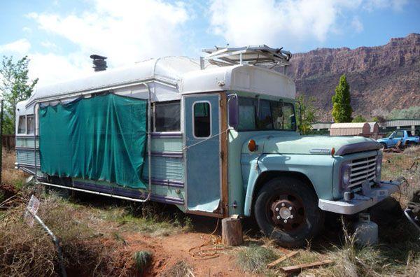 School Bus Conversion, RV for Sale: Moab, Utah   Home bus ...