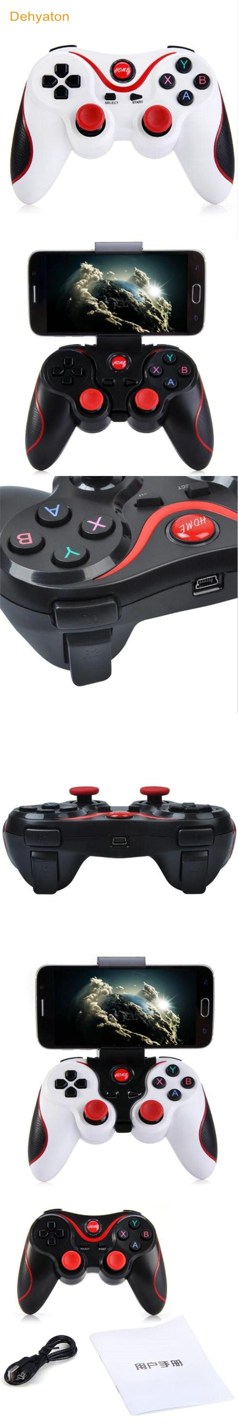 Dehyaton T3 Android Wireless Bluetooth Gamepad Gaming Remote Joystick It For Smartphone Pad Tab Controller Bt 30 Tablet
