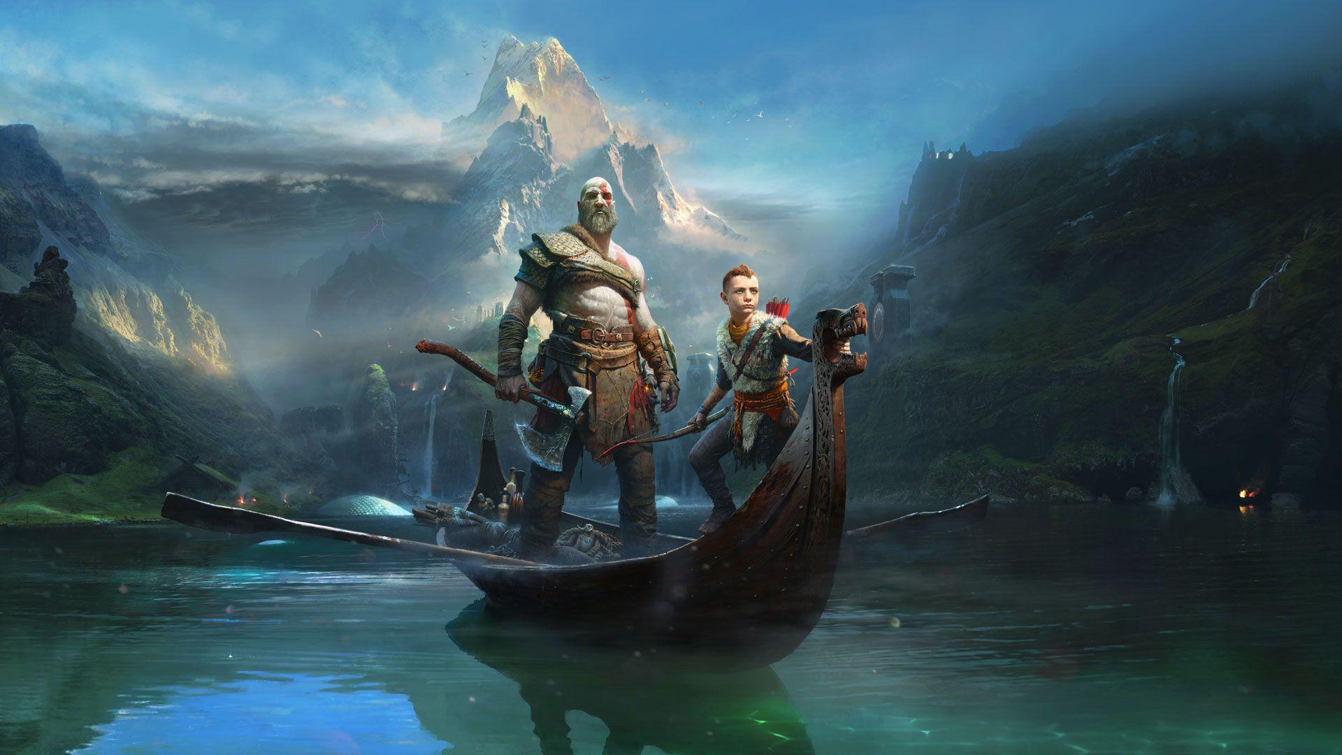 Playstation 4 Game Kratos God Of War God Of War New Gods