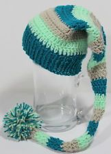 Mütze Baby  Zipfelmütze Babymütze Fotoshooting NEU Kopfum 35-40 cm