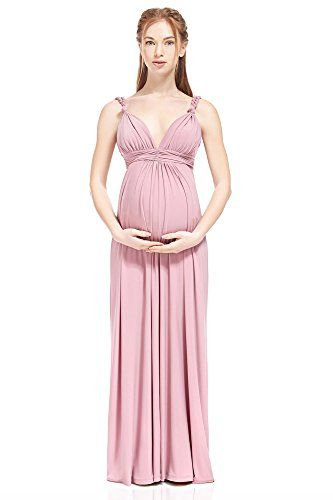 8d7bf4b8e34 Lovely Maternity And Nursing Gown Luisa Silky Empire Waist Maxi By Nothing  However Love (Giant