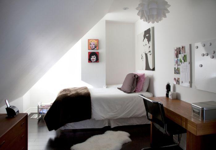 Jugendzimmer mit Dachschräge 35 Ideen für die Gestaltung