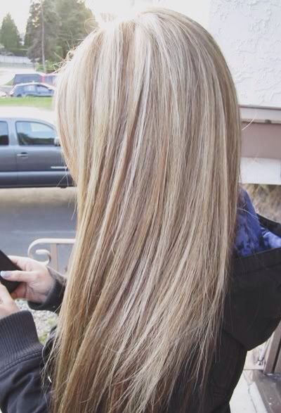 Nice Flowing Long Blonde Hair Style Very Good Use Of