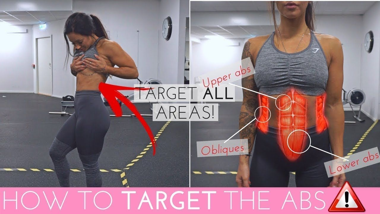 HOW TO TARGET ALL AREAS OF THE ABS   EASY SIX-PACK & OBLIQUES WORKOUT