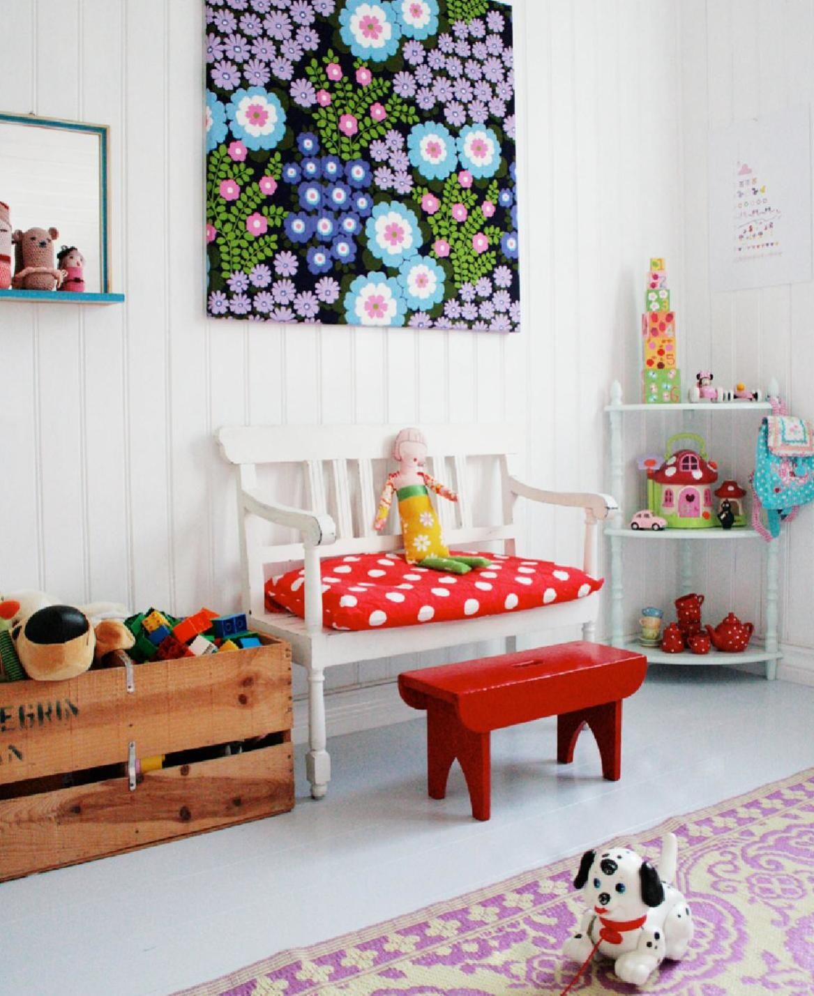 3 By Fryd Colorful Kids Room Kids Room Design Nursery To Toddler Room